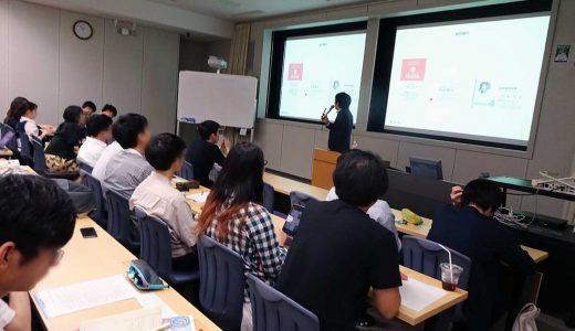 大学院『ベンチャービジネス論』で講義しました