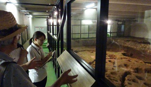 加曽利貝塚博物館での実習に参加しました